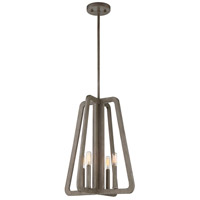 Tribute 4 Light 16 inch Canyon Pendant Ceiling Light