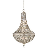 Savoy House 7-831-8-211 Obsidian 8 Light 26 inch Argentum Pendant Ceiling Light photo thumbnail