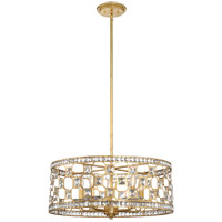 Savoy House 7-840-5-33 Clarion 5 Light 24 inch Gold Bullion Pendant Ceiling Light