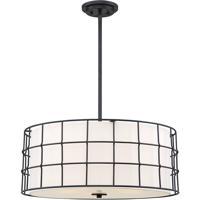 Savoy House 7-8501-5-89 Hayden 5 Light 25 inch Black Pendant Ceiling Light