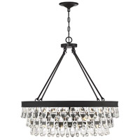 Savoy House 7-8701-6-13 Windham 6 Light 28 inch English Bronze Pendant Ceiling Light