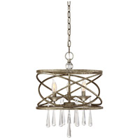 Trumbull 3 Light 16 inch Brittannia Gold Pendant Ceiling Light