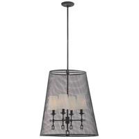 Savoy House 7-9003-4-88 Lorainne 4 Light 22 inch Oxidized Black Foyer Light Ceiling Light
