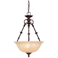 Savoy House 7-9006-3-13 Akron 3 Light 12 inch English Bronze Pendant Ceiling Light
