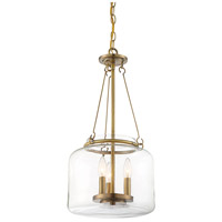 Savoy House 7-9006-3-322 Akron 3 Light 12 inch Warm Brass Pendant Ceiling Light alternative photo thumbnail
