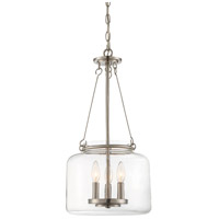 Savoy House 7-9006-3-SN Akron 3 Light 12 inch Satin Nickel Pendant Ceiling Light