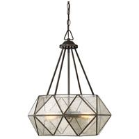 Savoy House 7-9008-4-28 Tartan 4 Light 20 inch Oiled Burnished Bronze Pendant Ceiling Light