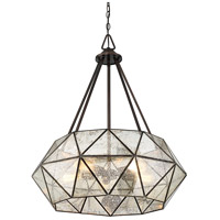 Savoy House 7-9009-5-28 Tartan 5 Light 28 inch Oiled Burnished Bronze Pendant Ceiling Light alternative photo thumbnail