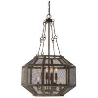 Savoy House 7-9011-8-42 Armour 8 Light 20 inch Galaxy Bronze Pendant Ceiling Light