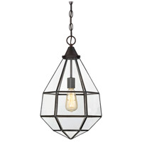 Savoy House 7-9016-1-13 Austen 1 Light 12 inch English Bronze Pendant Ceiling Light, Small