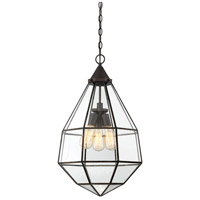 Savoy House 7-9017-3-13 Austen 3 Light 16 inch English Bronze Pendant Ceiling Light, Large