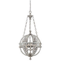 Savoy House 7-9130-3-332 Guilder 3 Light 16 inch Heirloom Silver Pendant Ceiling Light photo thumbnail