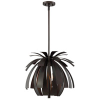 Jarvis 3 Light 19 inch Bronze Ore Pendant Ceiling Light