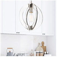Savoy House 7-9160-1-109 Epsilon 1 Light 12 inch Polished Nickel Pendant Ceiling Light alternative photo thumbnail