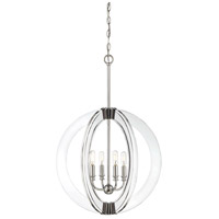 Savoy House 7-9161-4-109 Epsilon 4 Light 20 inch Polished Nickel Pendant Ceiling Light