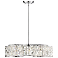 Citrine LED 25 inch Polished Chrome Pendant Ceiling Light