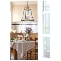 Savoy House 7-922-4-12 Belle 4 Light 14 inch Chateau Linen Pendant Ceiling Light alternative photo thumbnail