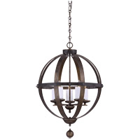 Alsace 5 Light 23 inch Reclaimed Wood Pendant Ceiling Light
