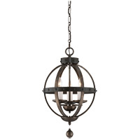 Alsace 3 Light 14 inch Reclaimed Wood Pendant Ceiling Light
