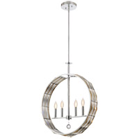 Lancaster 4 Light 5 inch Polished Chrome Pendant Ceiling Light