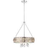 Savoy House Lancaster 5 Light Pendant in Polished Chrome 7-972-5-11
