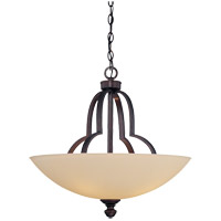 Savoy House Marcelina 4 Light Pendant in English Bronze 7P-963-4-13
