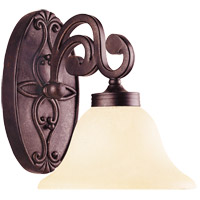 Savoy House Cumberland 1 Light Vanity Light in Oiled Copper 8-0114-1-05 photo thumbnail