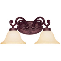 Savoy House Cumberland 2 Light Vanity Light in Oiled Copper 8-0114-2-05 photo thumbnail