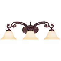 Savoy House Cumberland 3 Light Vanity Light in Oiled Copper 8-0114-3-05 photo thumbnail