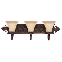 Savoy House 8-0160-3-76 Southerby 3 Light 32 inch Florencian Bronze Vanity Light Wall Light photo thumbnail