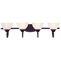 Savoy House Bedford 4 Light Vanity Light in Distressed Bronze 8-057-4-59