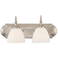 Savoy House 8-1007-2-SN Herndon 2 Light 18 inch Satin Nickel Bath Bar Wall Light