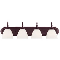 Savoy House 8-1007-4-13 Herndon 4 Light 30 inch English Bronze Bath Bar Wall Light