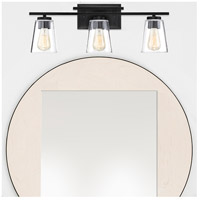 Savoy House 8-1020-3-BK Calhoun 3 Light 24 inch Black Bath Bar Wall Light alternative photo thumbnail