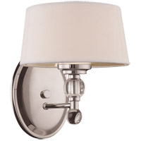 Murren 1 Light 8 inch Polished Nickel Bath Sconce Wall Light