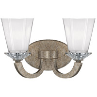 Savoy House Forum 2 Light Vanity Light in Gold Dust 8-1557-2-122