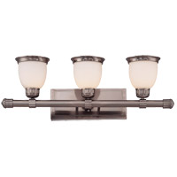 Savoy House Retro Thunder 3 Light Bath Bar in Brushed Pewter 8-20036-3-187 photo thumbnail