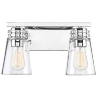 Savoy House 8-2148-2-109 Brannon 2 Light 14 inch Polished Nickel Bath Bar Wall Light