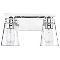 Savoy House 8-2148-2-109 Brannon 2 Light 14 inch Polished Nickel Bath Bar Wall Light alternative photo thumbnail