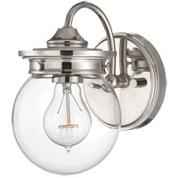 Savoy House Downing 1 Light Vanity Light in Polished Nickel 8-232-1-109
