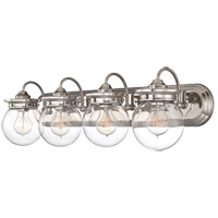 Savoy House 8-232-4-109 Downing 4 Light 30 inch Polished Nickel Bath Bar Wall Light alternative photo thumbnail