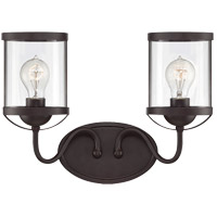 Savoy House Bergen 2 Light Vanity Light in English Bronze 8-235-2-13