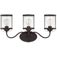 Savoy House Bergen 3 Light Vanity Light in English Bronze 8-235-3-13