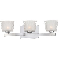 Savoy House Carina 3 Light Vanity Light in Chrome 8-236-3-CH