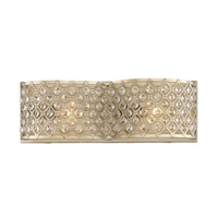 Regis 2 Light 16 inch Pyrite Bath Bar Wall Light