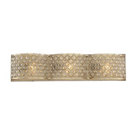 Regis 3 Light 24 inch Pyrite Vanity Light Wall Light