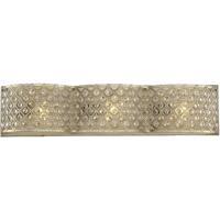 Savoy House 8-2405-3-98 Regis 3 Light 24 inch Pyrite Bath Bar Wall Light