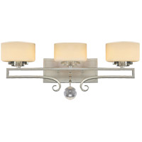 Savoy House 8-257-3-307 Rosendal 3 Light 25 inch Silver Sparkle Bath Bar Wall Light alternative photo thumbnail
