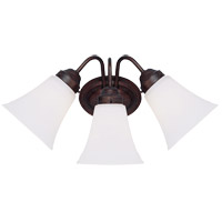 Savoy House Brighton 3 Light Vanity Light in English Bronze 8-3280-3-13