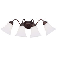 Savoy House Brighton 4 Light Vanity Light in English Bronze 8-3280-4-13